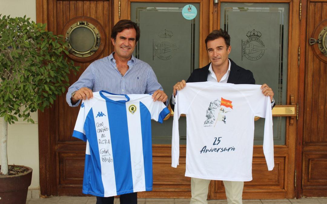 El Real Club de Regatas de Alicante firma un convenio con el Hércules de Alicante CF que promueve sinergias entre ambas entidades en beneficio de sus socios y de la ciudad