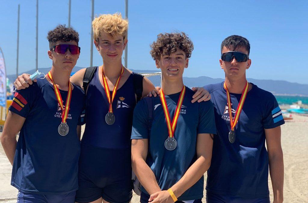 Éxito del Real Club de Regatas de Alicante en el VII Campeonato de España de Remo de Mar