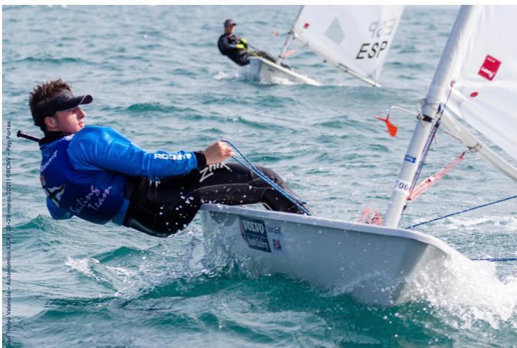 Nuestro deportista Felix Castejón, admitido como aspirante a la Armada
