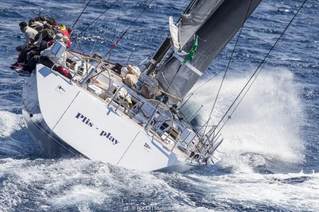 PLIS PLAY, Sail n: ESP9930, Bow n: 11, Class: MM CR, Model: SWAN 80